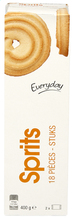 EVERYDAY Sprits natur shortbread 400g