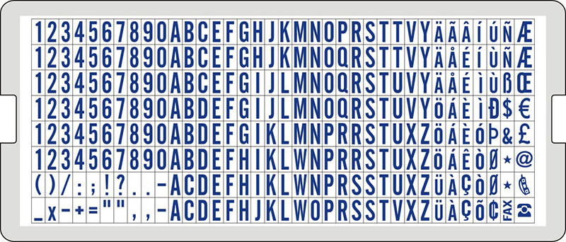 Diy Text English Typeset Grm 6004l,4 Mm Latin Alphabet Letters - Buy Diy  Rubber,Diy Text Typesets Product on Alibaba com