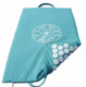 Spike button fix without glue on 100% cotton sheeting fabric best selling Acupressure mat