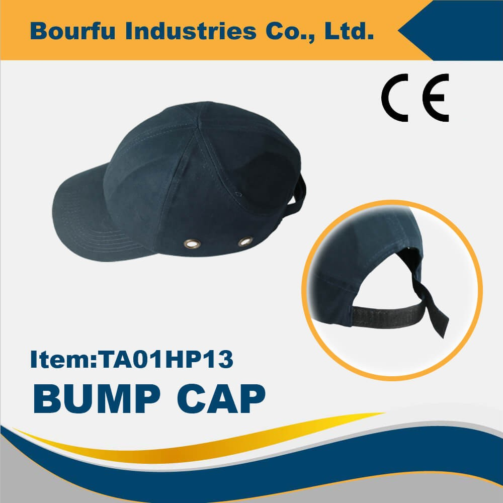 Taiwan Blue Head Protection CE Baseball Safety Cap
