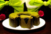 Sweet rich dessert packaging green tea making machine GREEN TEA CHOCOLATE BAUMKUCHEN with creamy and smooth flavor