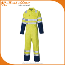 2 Tone Coveralls With High Visibility For Safety Wear