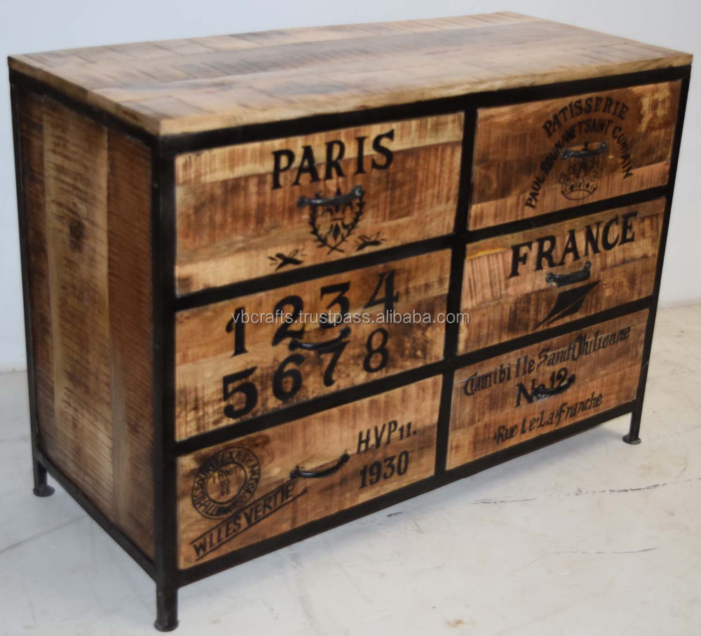 Vintage Industrial Sideboard Buy Shabby Chic Furniture Industrial