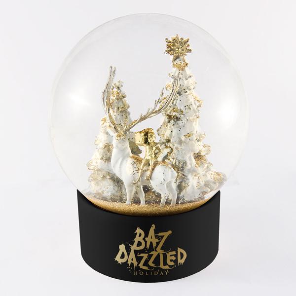 boule à neige en verre   personnalisée   luxe   Barneys   New York
