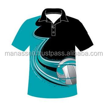 Dye Sublimation Custom Men S Polo Shirt Printing Printed Logo Shirt