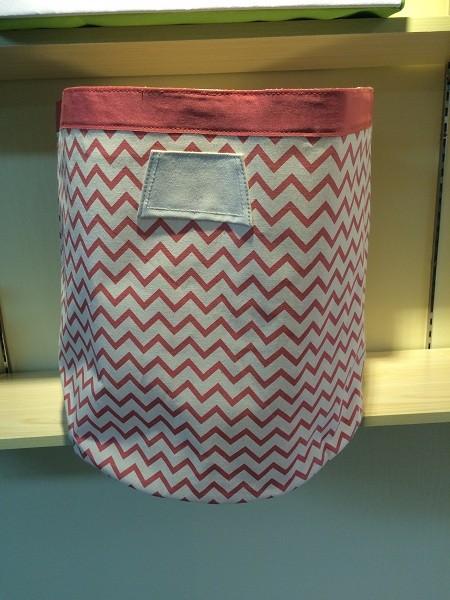 Canvas Fabric Animal Designs Bag Pe Coating Laundry Basket Baby ...