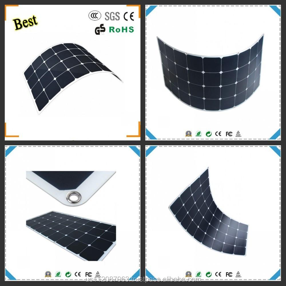 Cellule Photovoltaïque En Silicium Amorphe dedans 2017 date silicium amorphe À couche mince panneau solaire flexible