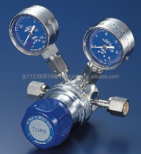SUS and easy to use krypton with high performance Japan gas regulator