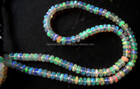 AAA Qualiity Natural Ethiopian Opal 8mm Roundell Faceted Loose Beads Strand