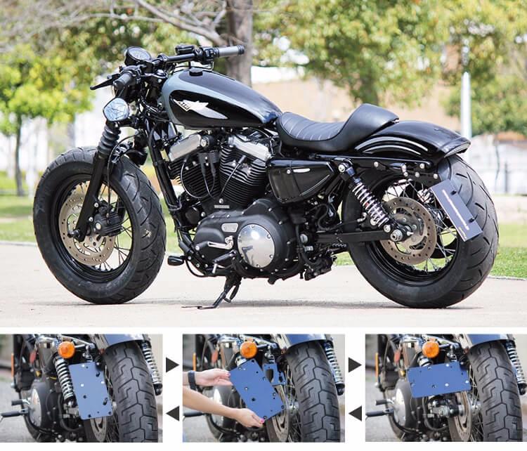 Alta Calidad Fiable Y Montaje Lateral Para Harley Davidson,Diseñado ...