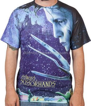 36781822a custom dye sublimation t shirt/custom polyester dry fit sublimation t shirt /100%