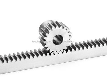 Ground rack gear Metric gears Module 3.0 Length 500mm Made in Japan KG STOCK GEARS