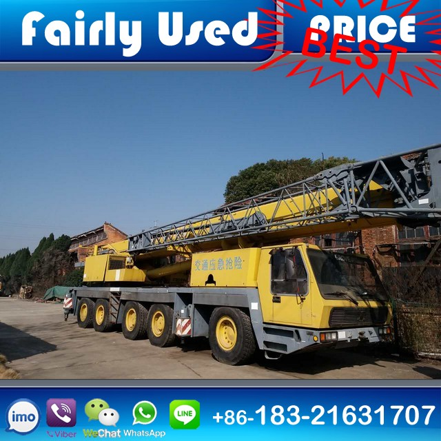 Good Condition Used GROVE GMK5130 TRUCK CRANE 130T for sale
