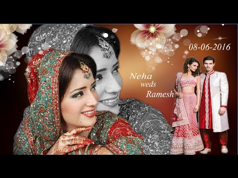 How To Design A Wedding Album Cover Page IN HINDI