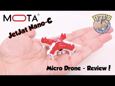 Mota JetJat Nano-C Micro Drone with Camera! - REVIEW
