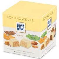 Ritter Sport Schokowuerfel Box Weiss 176g