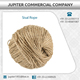 Sisal Ropes/Twines of 3 Strands from Sizes 6mm to 40mm