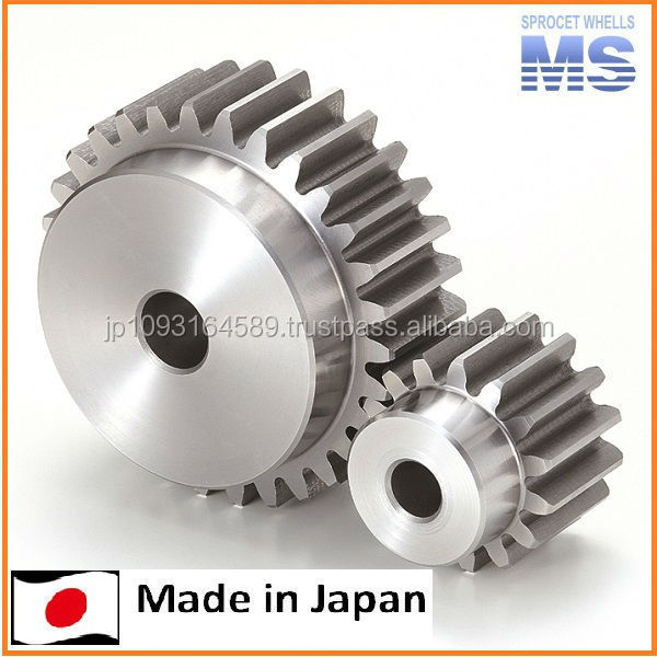 Various type of standard spur gear by Japan manufacturer