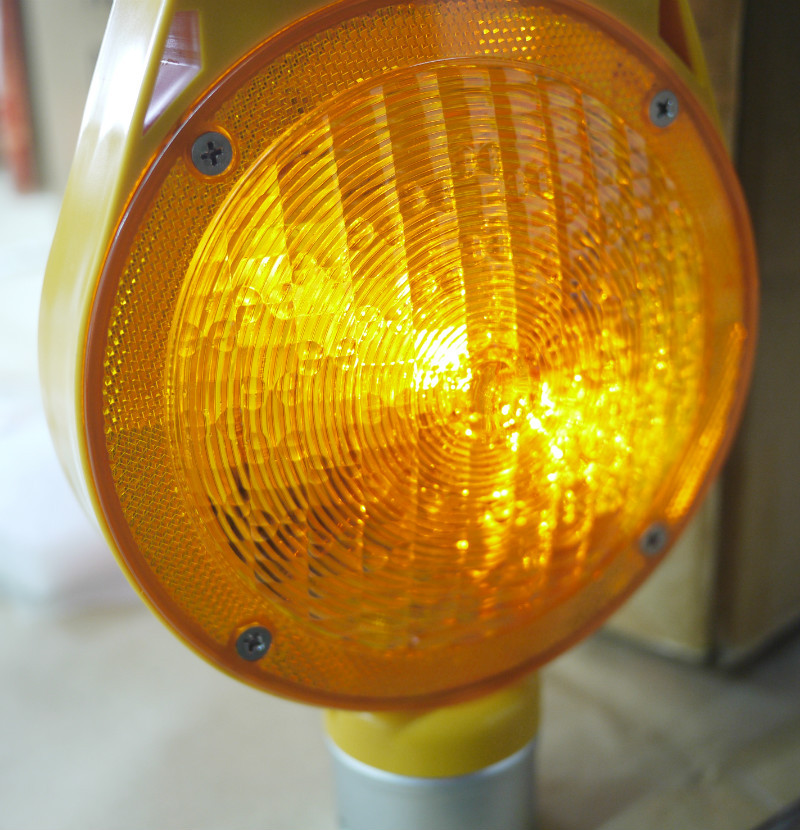 Solar Road Safety Products Strobe Light Barricade Light