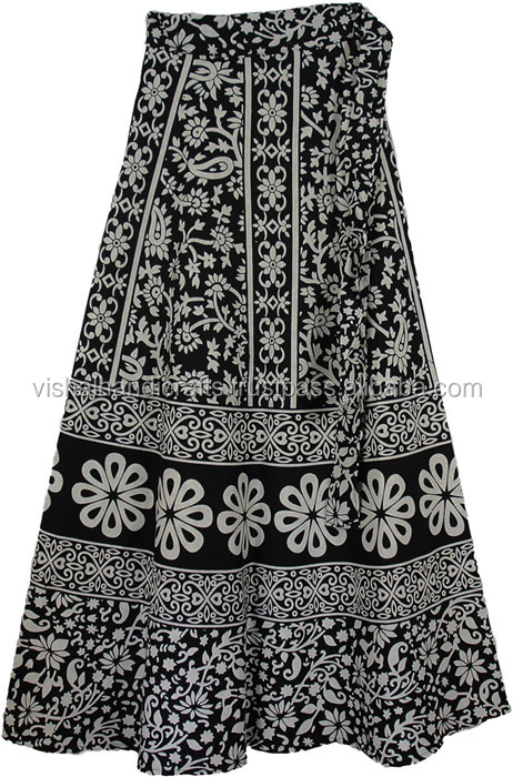 Skirts Online Shopping Store / Buy Women Long Wrap Skirt / Cotton ...