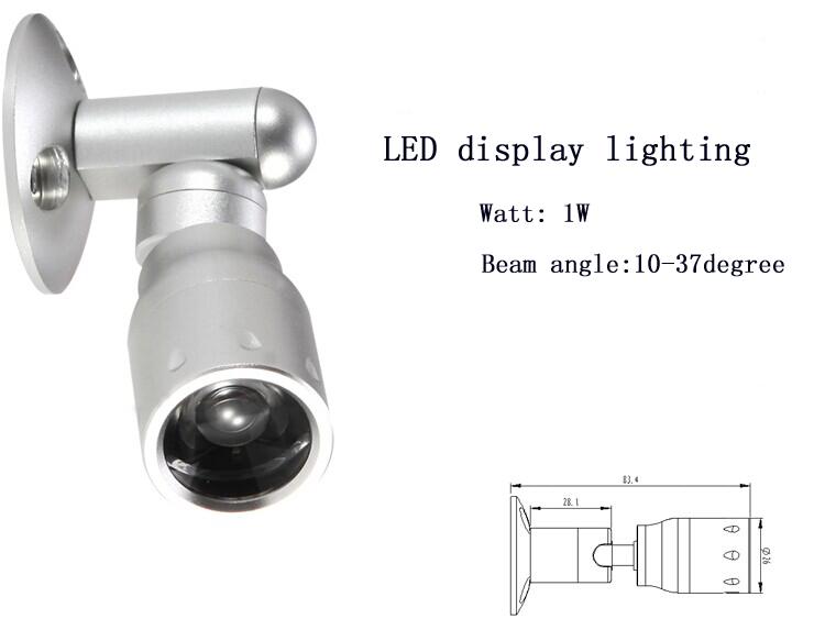 1w High Power 120v 24v Dimmable Led Under Cabinet Lights For ...