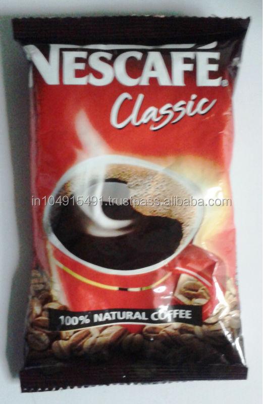 nescaf nescaf classique nescaf instantan en poudre de caf caf instantan id de. Black Bedroom Furniture Sets. Home Design Ideas