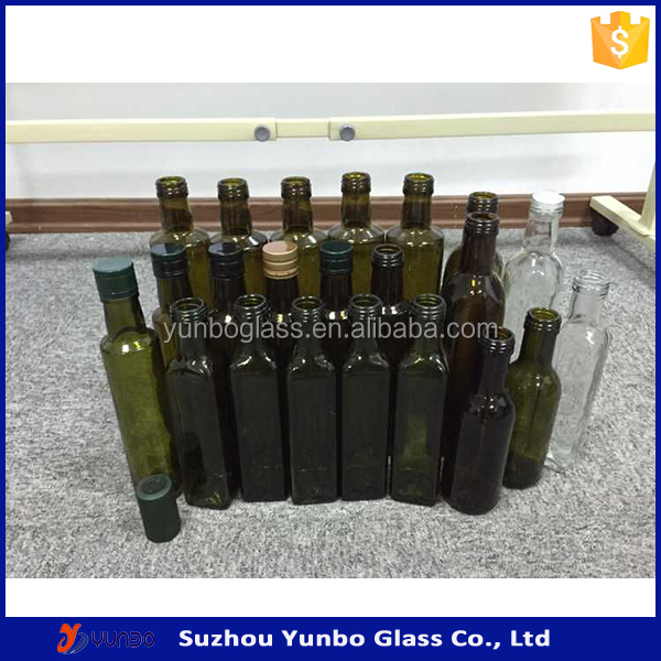 In Stock Green Olive Oil Bottles Set for Kitchen, View Olive Oil Bottles  Set, YB Product Details from Suzhou Yunbo Glass Co , Ltd  on Alibaba com