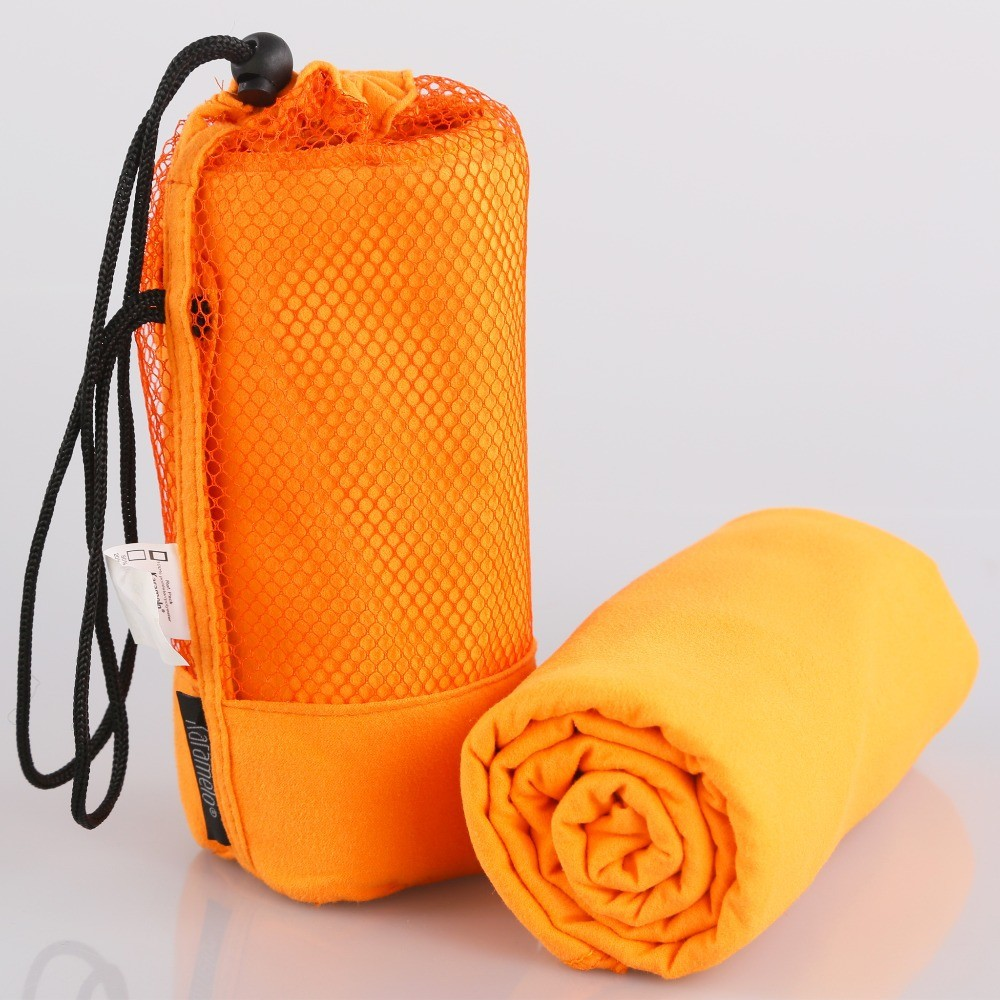 Orange Sweat Towels: 30*120cm Fast Drying Sweat Running Microfiber Sports Towel