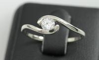 Solitaire gift white gold 8k bangkok jewellery 1 gram gold ring gold jewellery