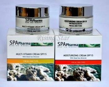 Dead Sea Moisturizers SPF15 Multi-Vitamin Natural Minerals Skin Care Cosmetics