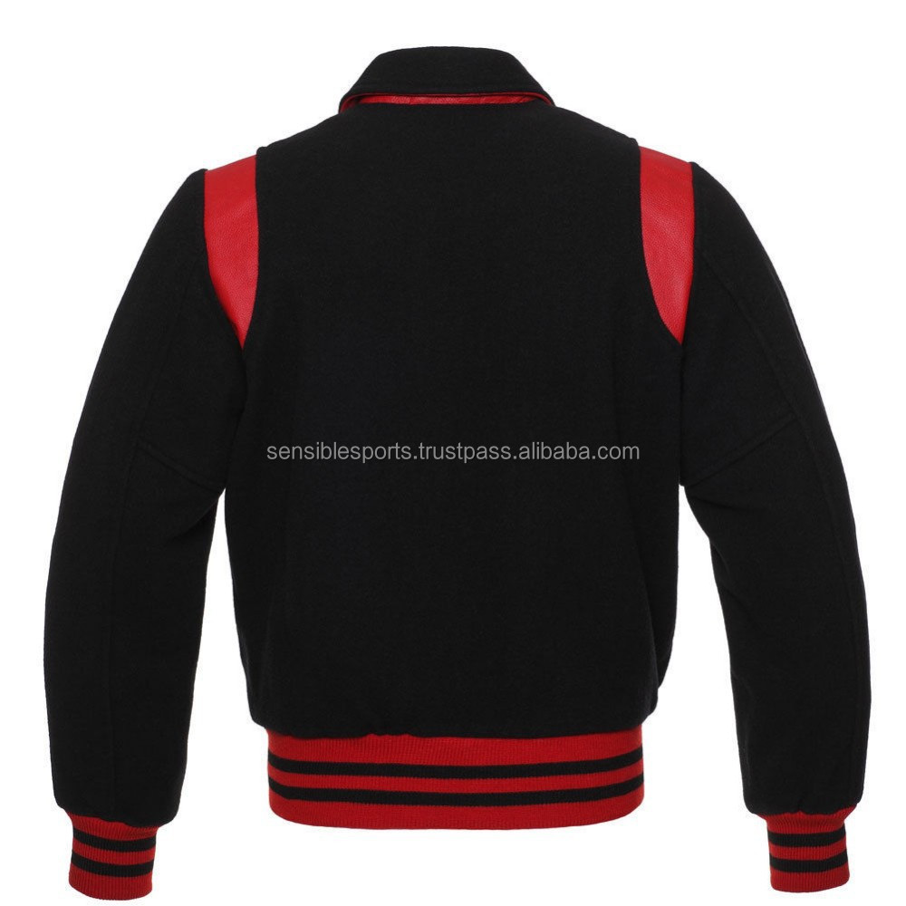 Wholesale Custom New Model Varsity Leather Letterman Jacket