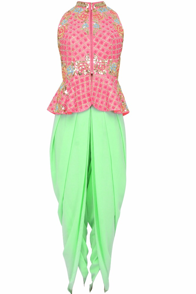 Bonnito Women New arrival Indian Dresses Top and Dhoti