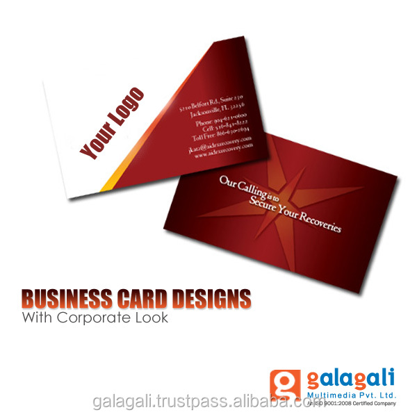 Graphic Design Service - Corporate Branding and Business Cards Design and Printing Service