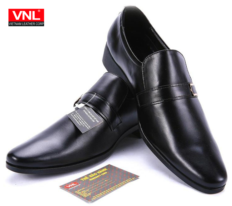 Men's Premium Genuine Leather Bolton Dress Shoe For Office With Strap VNL4A4L3DD