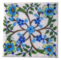 Handmade Indian ceramic Tiles
