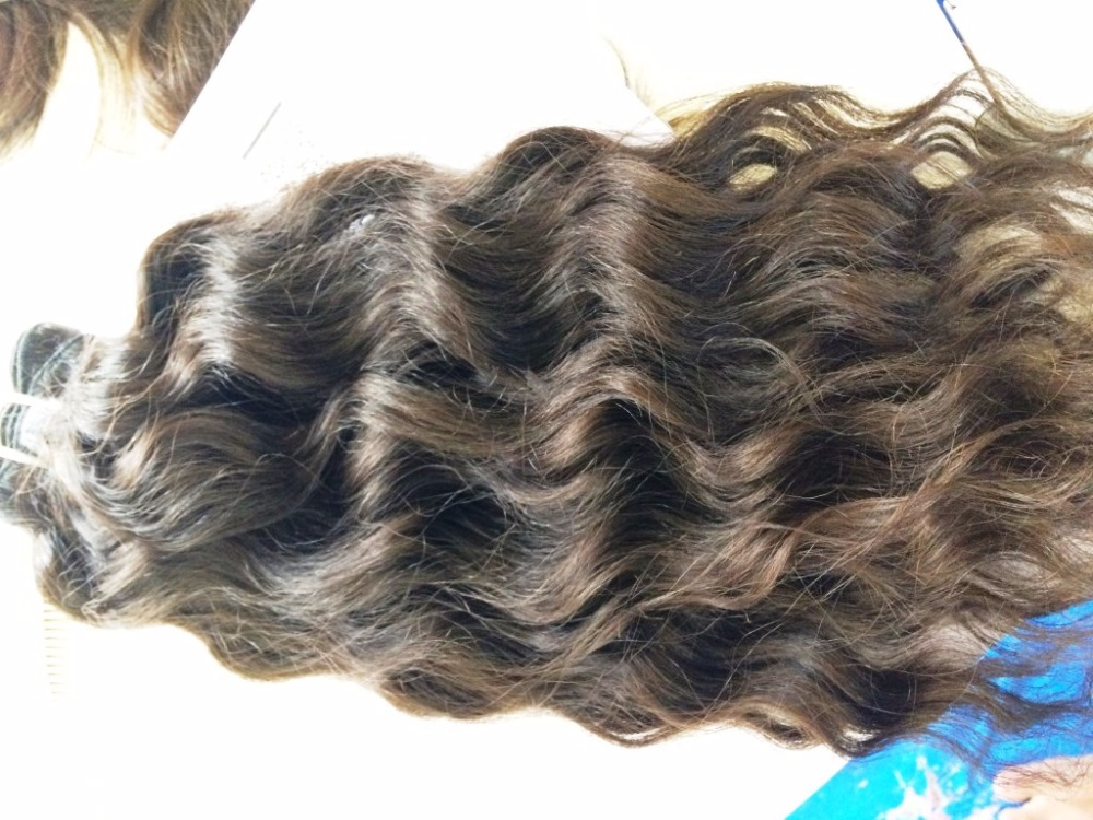 Wholesale Unprocessed Natural Raw Curly Hair Weft