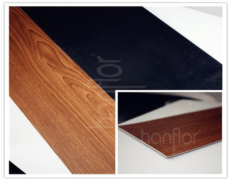 Factory direct interlocking glueless vinyl wood plank for Vinyl flooring companies