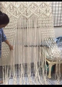 Beautiful Macrame Lace Curtains