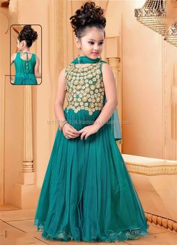 f10ce492d22a Baby Girls Wholesale Kids Gown Supplier In Surat - Kids Wear Design ...