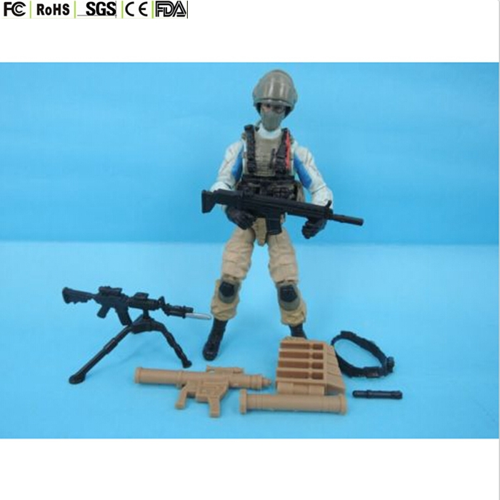 Custom Made 3.75'' Gi Joe Military Action Figure Toys With Guns ...