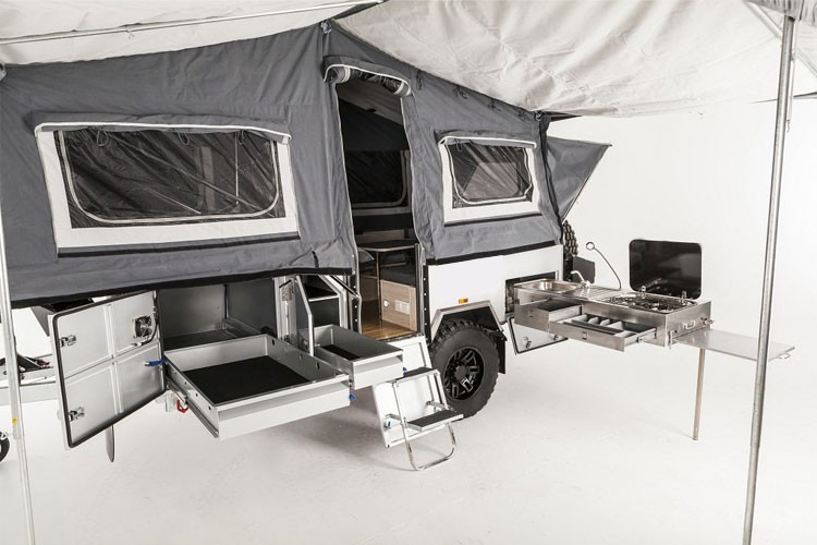 Forward Folding Hard Floor Camper trailer for Sale