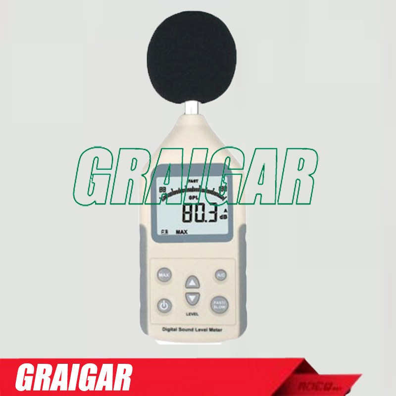 Digital Sound Level Meter AR814 Measuring Range 30~130dB Noise Level Meter Tester Decibel Meter