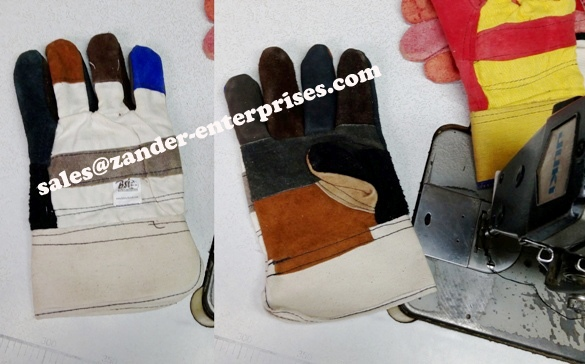 Industrial gloves / sheep leather working gloves / cow leather working gloves