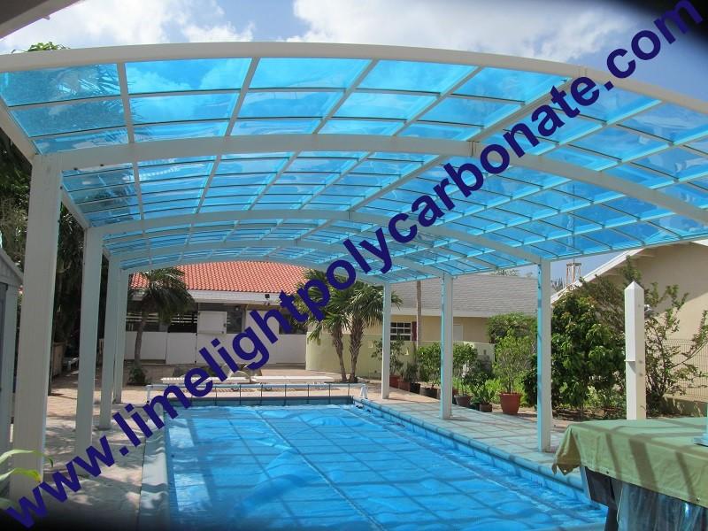 Aluminium Carport Polycarbonate Carport Couverture De