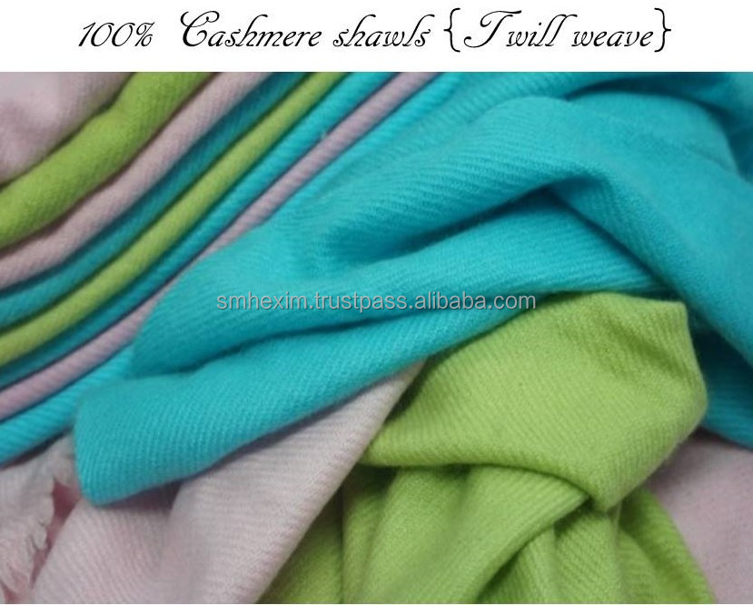 100% Cashmere, All Natural, Hand made cashmere shawls,100% Cashmere Solid Colours