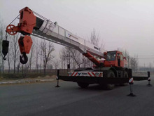 Used 50ton Tadano TR500EX construction machinery all terrain crane