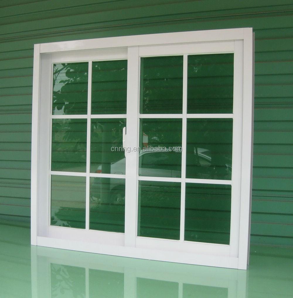 Ghana Style Aluminium Sliding Window With Burglar Proof