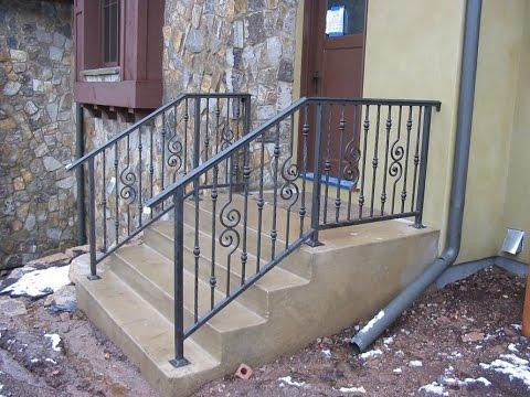 Outdoor Stair Railing # Outdoor Stair Railing Aluminum