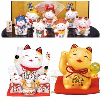 Cute Japanese Lucky Cat Ceramic Maneki Neko - Popular Gifts - Buy Lucky Cat  Ceramic Maneki Neko   Product on Alibaba com