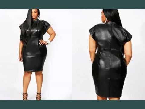 Leather Plus Size Dress For Plus Size Women | Picture Collection | Leather Plus Size Dress Romance